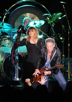Stevie Nicks & Lindsey Buckingham...(Fleetwood Mac in London)...from Rolling Stone Music