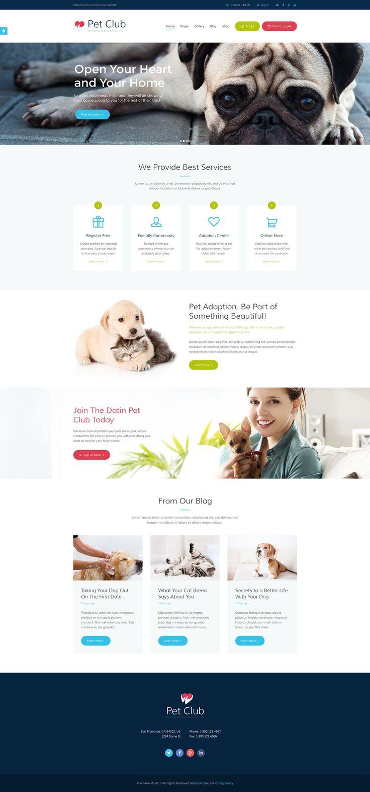 74 best Brooklyn Park Pet Hospital Web Design Inspiration images