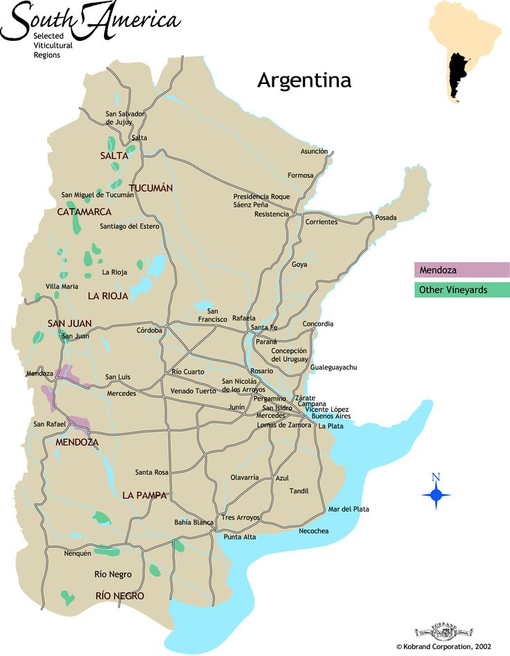 Best Les Vins Argentins Argentinian Wines Images On - Argentina map salta