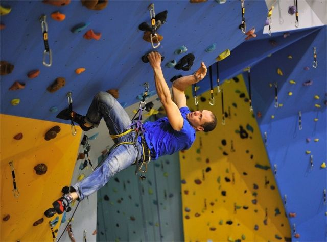 Lezecka Stena: climbing place