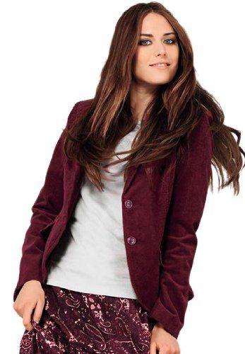 #FashionBug Plus Size #Jacket In Soft #Cotton #Corduroy