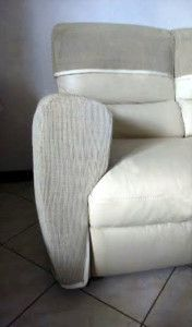 Cat Friendly Sofa Ivory White