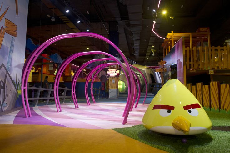 Angry Birds Activity Park, Johor Bahru.  See more:  http://www.lappsetcreative.fi/References/