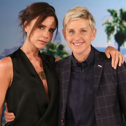 Victoria Beckham and Ellen DeGeneres Play a Game With David Beckham's Body?Watch Now!