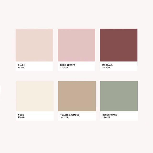 Color Palette Regram Via Dellidesign Amostras De Cores
