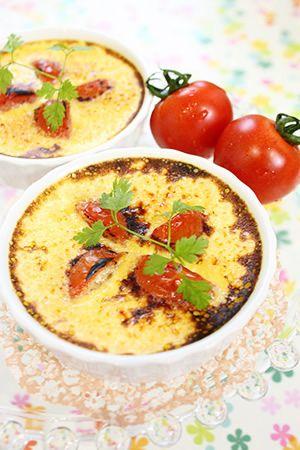 chococoこと友香さんの『簡単お菓子のレシピとラッピングの方法』「トマトのクレームブリュレ」 | お菓子・パンのレシピや作り方【corecle*コレクル】