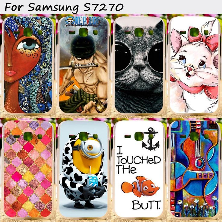 Cell Phone Skins Cases For Samsung Galaxy Ace III 3 S7270 S7272 ACE3 S7275 S7278 Cases Hard Plastic and Silicon Cover Phone Case