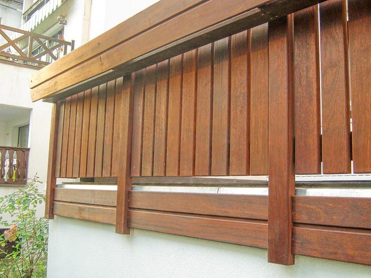 Balustrada Drewniana Zewnętrzna Balkony Kute Balustrady
