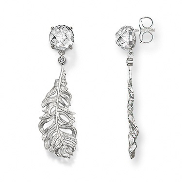 Thomas Sabo feather earrings
