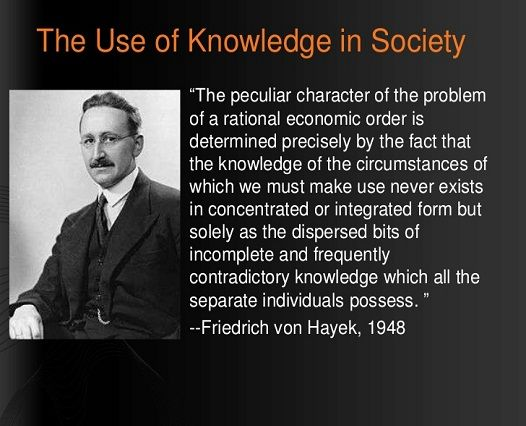 use of knowledge in society - Google Search