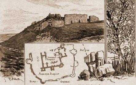 Suceava, ruinele Cetăţii
