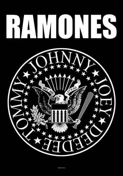 "Best Logo ever! Learn all about the Ramones in the book;  ""ON THE ROAD WITH THE RAMONES"". Throughout the remarkable twenty-two-year career of the Ramones the seminal punk rock band, Rock 'n' Roll Hall of Famers and Recording Academy Grammy Lifetime Achievement Award winners Monte A. Melnick saw it all. He was the band's tour manager from their 1974 CBGB debut to their final show in 1996. . Full of insider perspectives and exclusive interviews and packed with over 250 personal color photos."