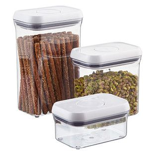 Good Grips® Rectangular POP Canisters - The perfect size for my gluten-free flours and starches.