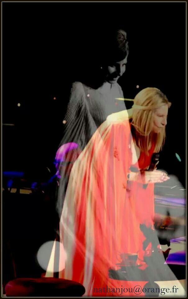 Montage. Barbra  Streisand