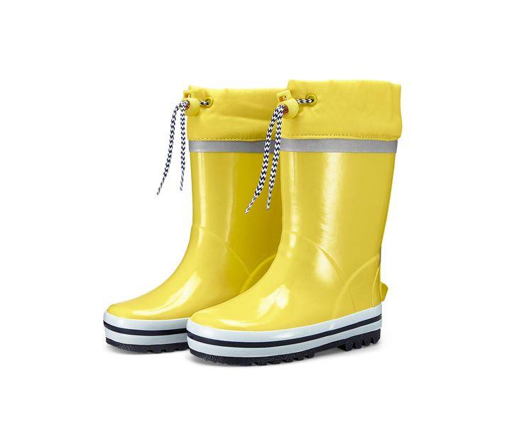 Holínky do deště, žluté 328568 z e-shopu Tchibo.cz