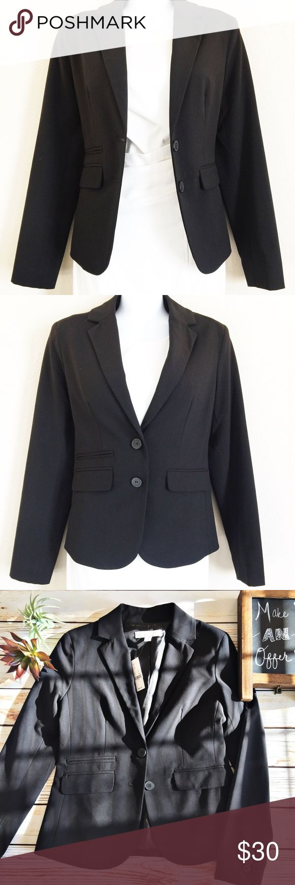 Black New York and Company Blazer NWT!!! Brand new with tags! The blazer stretches, so you can move around with ease! New York & Company Jackets & Coats Blazers