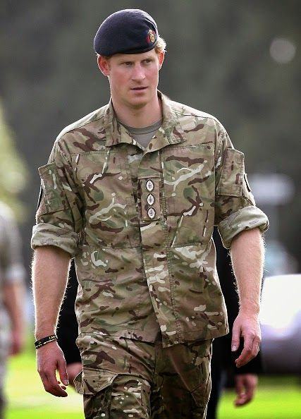 Prince Harry arrives at Lintern Military Base during a visit on May 13, 2015 in Palmerston North New Zealand