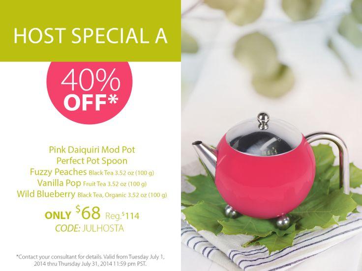 Enjoy 40% off on this summery tea bundle!  http://www.steepedtea.com/pdf/july_host_A.jpg