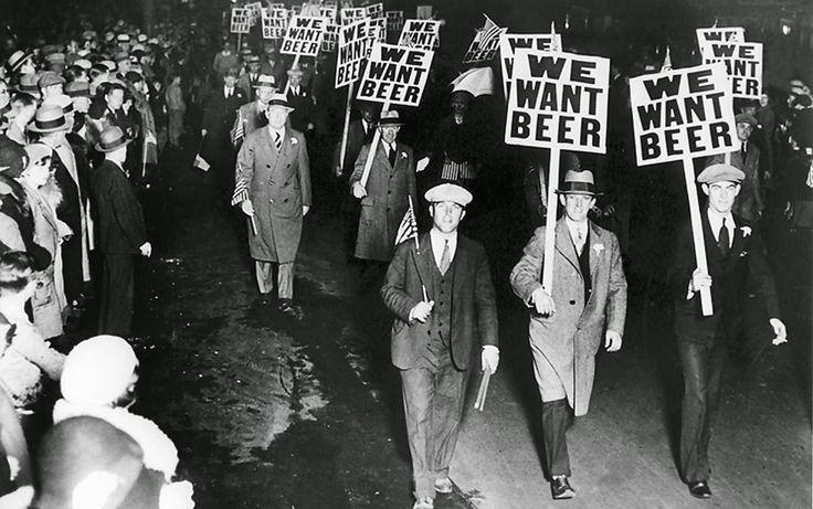 """""""Lo que América necesita ahora es un trago"""", así terminó Roosevelt con la Ley Seca en EEUU que duró 13 años, 10 meses, 19 días, 17 horas y 32,5 minutos."""