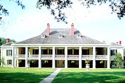 Destrehan Plantation is an excellent example of the French Creole architectural style