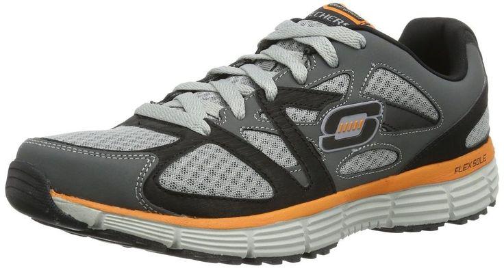 Skechers Mens Running Shoes Ultimate Victory Flex Sole Grey Multi size 7 NEW 37.99 http://www.ebay.com/itm/Skechers-Mens-Running-Shoes-Ultimate-Victory-Flex-Sole-Grey-Multi-size-7-NEW-/252992357032?ssPageName=STRK:MESE:IT