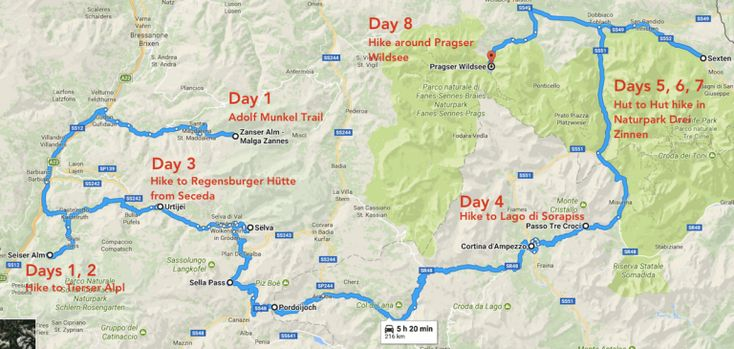 Dolomites Road Trip Itinerary The Best Of The Italian Dolomites In 7 Days Dolomites Road Trip Itinerary Road Trip Map
