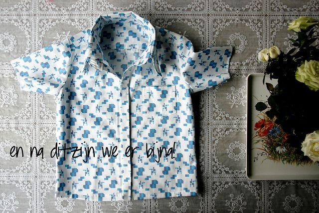 Shirt sew along by Mamasha - 4