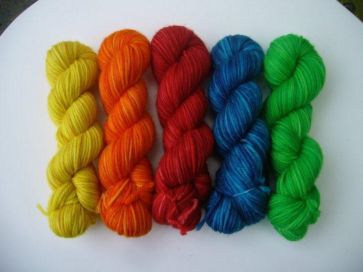 Rainbow Drops Petite Collection - Red Riding Hood Yarns