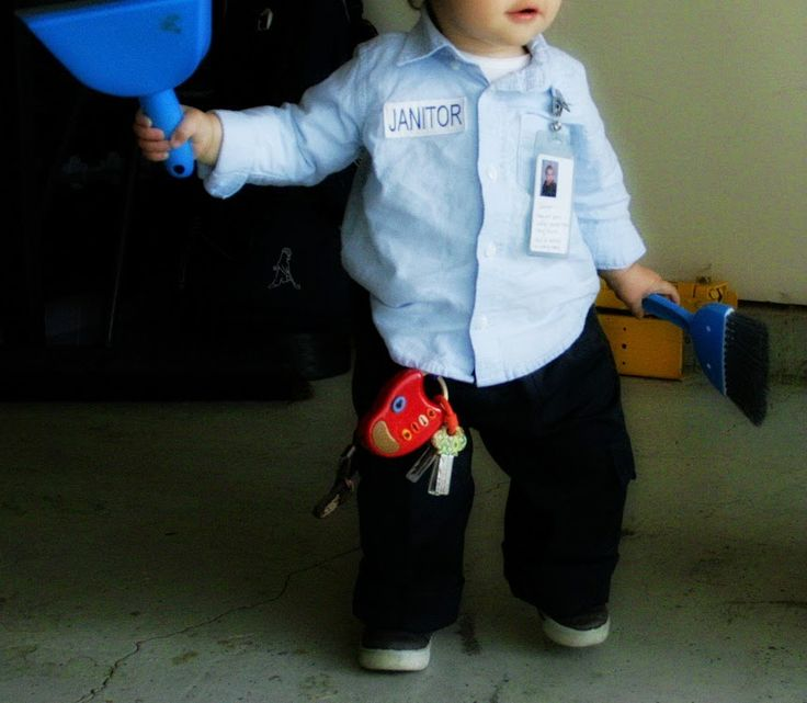 Janitor Costume Kids
