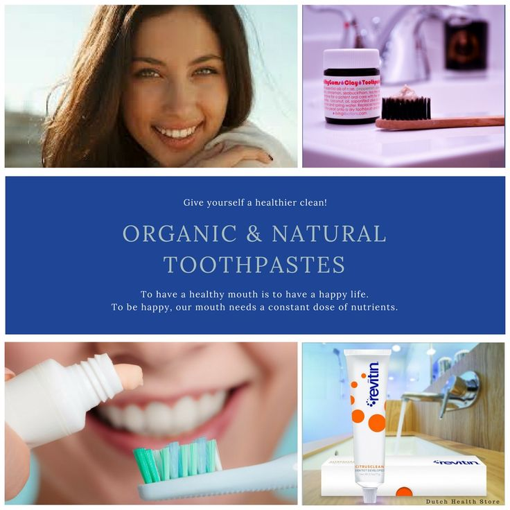 👩‍🔬 ORGANIC & NATURAL TOOTHPASTES 〰 Dutch Health Store Give yourself a healthier clean!   #organictoothpaste #naturaltoothpaste #organic #natural #vegan #livinglibations #revitin #dutchhealthstore