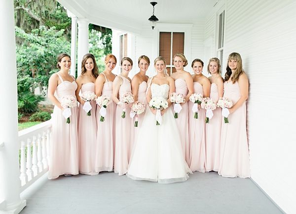 Stunning Wedding Dresses In Beige And Blush: 136 Best Images About Bill Levkoff Bridesmaids On