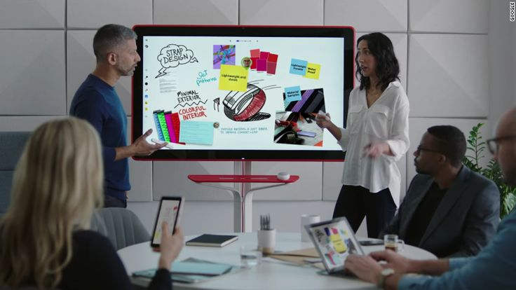 Google recently unveiled Jamboard, 55-inch digital whiteboard on wheels intended a tool for meetings that offers features like a giant touchscreen that you can write and draw on, as well as pulling up spreadsheets and other documents from Google Drive. Click for more #creative highlights from the week.