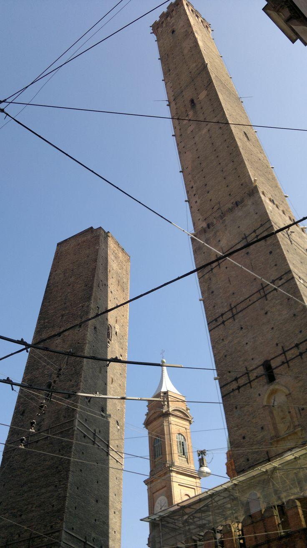 Torre Garisenda e degli Asinelli