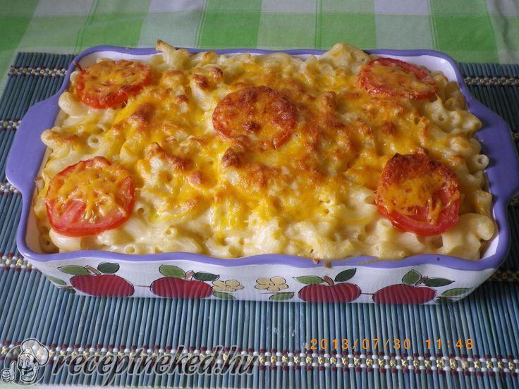 A legjobb Cheddar sajtos makaróni recept egyenesen a Receptneked.hu gyűjteményéből