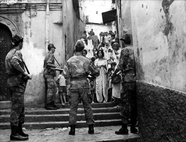 Guerre d'Algérie - la bataille d'Alger 1957 -