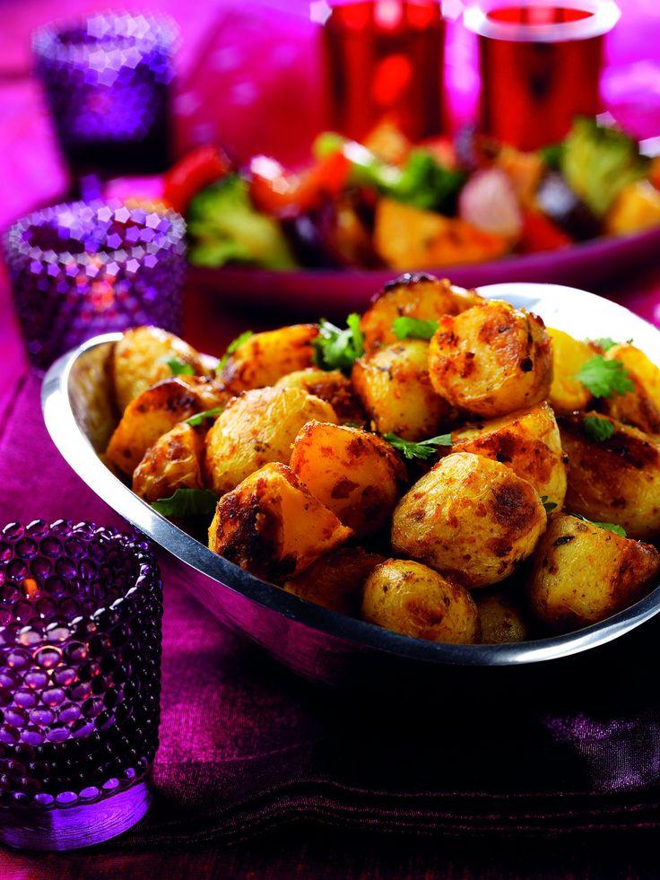 Curry Potatoes : recette à la pâte de curry doux Patak's