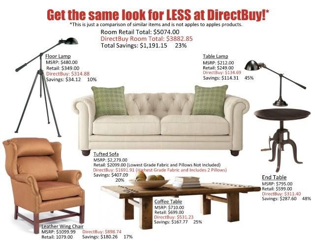 Living Room - Just look at the unbelievable savings!!!!