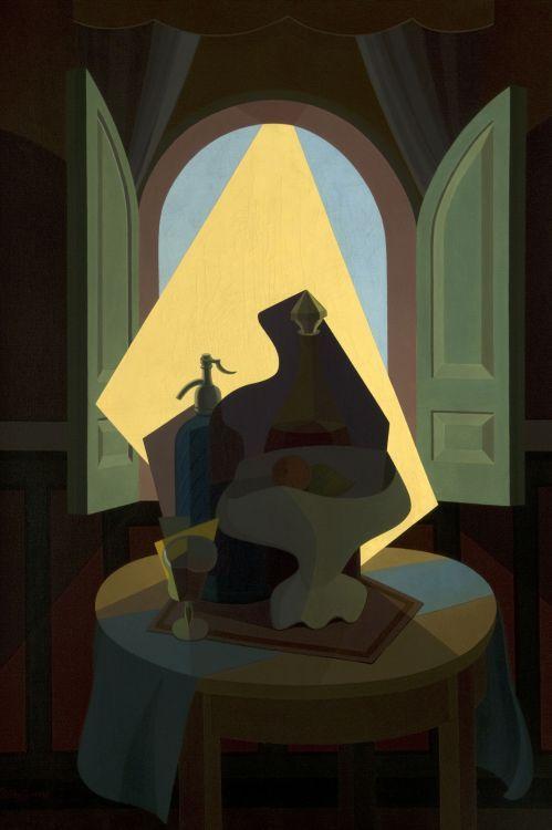 Sol argentino o Intimidad (1941) Oleo sobre tela - Emilio Pettoruti (Argentino 1892-1971) Museo Nacional de Bellas Artes de Buenos Aires