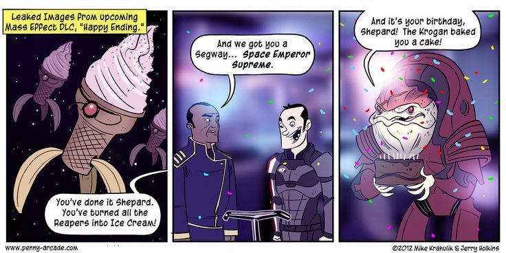 How they should have done the DLC ending in Mass Effect 3
