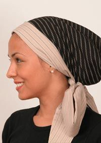 Quick Wrap by HappyHeads - Head Covering - Fashionable Head Wrap