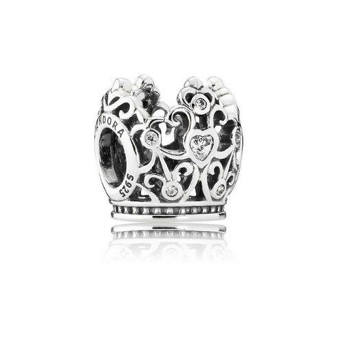 PANDORA - Disney, Princess Crown Charm - Item 19516038