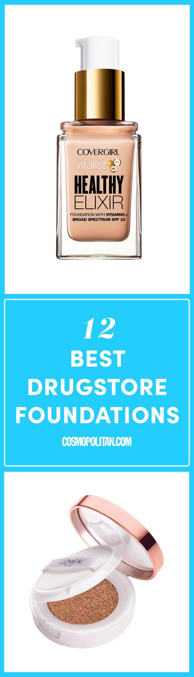 12 Best Drugstore Foundations 2017 - Top Drugstore Foundation Brands