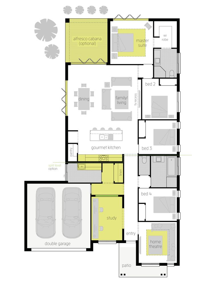 Montoro Upgrades Floor Plan Every Well Considered Light Soaked Space In The Floor Plans