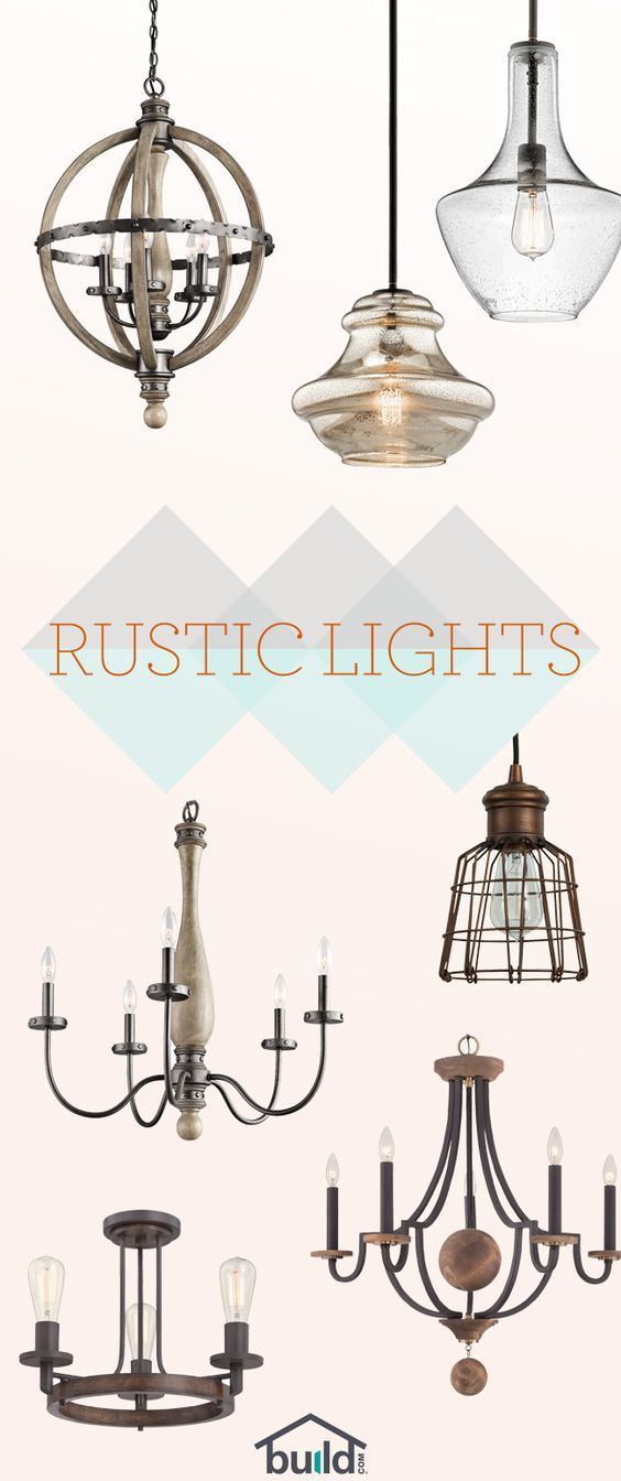 Beautiful Rustic Lighting starting at $65! Give your room a fresh look and feel with an updated fixture that steals the show. Free shipping on all orders over $49!: