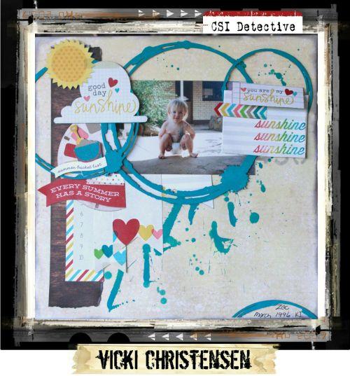 Major Case File No. 166 {Case closes on June 30, 2015} - CSI: Color, Stories, Inspiration