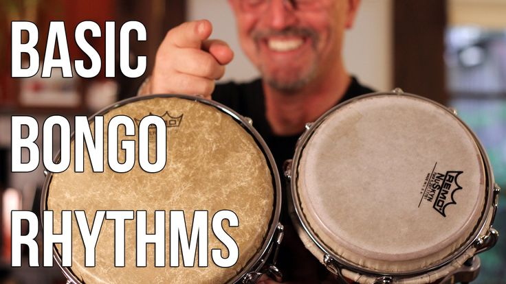 How to Play Bongo Drums: Basic Martillo for Beginners!