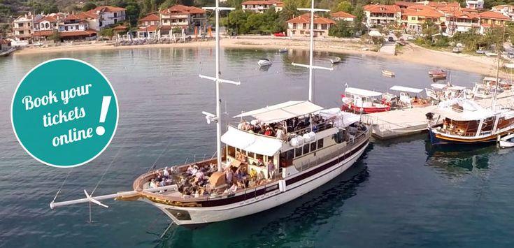 Tickets to Mount Athos Cruise from Ormos Panagias  #touring #TTOT #travel #greece #Halkidiki #thingstodo #axperiences #summer