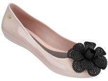 Zaxy pudrové baleríny Pop Garden Fem Pink/Black - 872 Kč