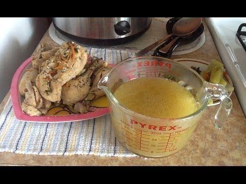 Consome de Pollo casero (Concentrado de caldo de pollo) Paso a paso como preparar - YouTube