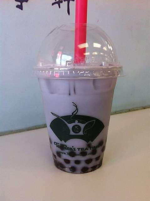 Ten Ren Tea Time, Flushing, NY.  Best bubble milk tea in NY. Coconut is the best!